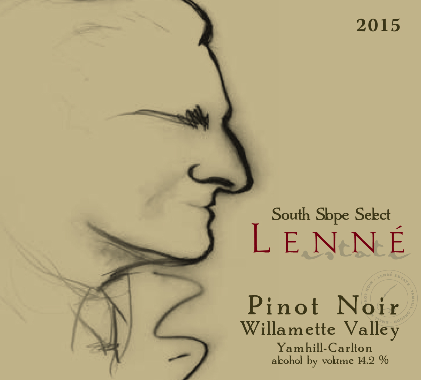 2015 South Slope Select Pinot Noir Product Image